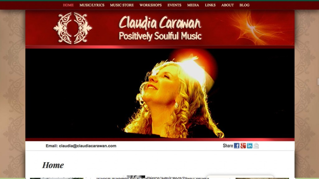 Claudia Carawan - Positively Soulful Music