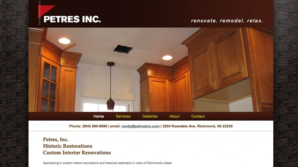 Petres, Inc. - Construction