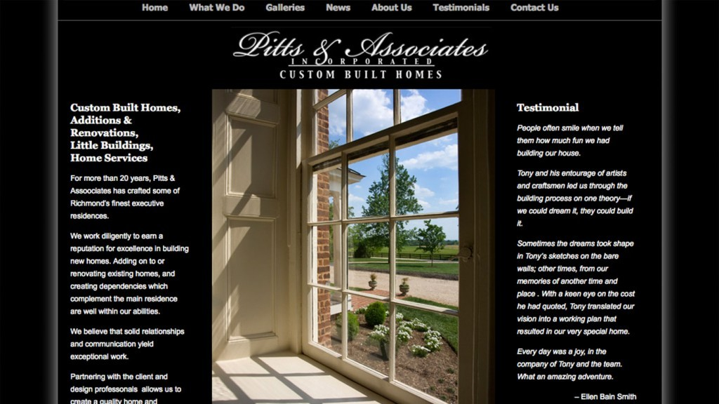 Pitts & Associates - Contractor